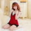 ชุดนอนซีทรูเซ็กซี่สีแดงเลือดหมูสวยมากค่ะ ชุดจริงสวยค่ะ thumbnail 4