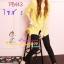 ##SKINNYฮิตฮอตแฟชั่นเกาหลีเก๋สุดๆ PB443 Skinny กางเกงสกินนี่ Skinny ผ้ายืดเนื้อหนา ผ้านิ่ม รุ่นนี้ทรงสวย ใส่สบาย ไม่มีไม่ได้แล้วสีดำแต่งง่าย S thumbnail 1