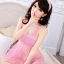 ชุดนอนซีทรูเซ็กซี่สีชมพูคล้องคอ เนื้อผ้าซีทรูลายสวยมากค่ะ thumbnail 2