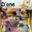 [Only590] พร้อมส่ง BRAND112 เอาใจคนตามงานสไตล์แบรนด์ดัง แบรนด์ Lynaround งานป้ายเอี้ยมลายดอก สีสันสดใสมากๆ ดีไซน์น่ารัก มีกระเป๋าเป็นรูปหัวใจ thumbnail 8