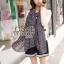 ผ้าพันคอลายหัวใจ : Cute Little Heart ผ้าชีฟอง size 160x75 cm thumbnail 4