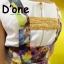 [Only590] พร้อมส่ง BRAND112 เอาใจคนตามงานสไตล์แบรนด์ดัง แบรนด์ Lynaround งานป้ายเอี้ยมลายดอก สีสันสดใสมากๆ ดีไซน์น่ารัก มีกระเป๋าเป็นรูปหัวใจ thumbnail 5