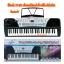คี่ย์บอร์ด XY-893 TEACHING ELECTRONIC KEYBOARDพร้อมอะเด็ปเตอร์+ไมค์โครโฟน+ที่วางโน้ต+จัดส่งฟรี thumbnail 1