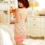 ชุดนอนซีทรูสายเดี่ยวสีส้มลายน่ารักเย้ายวน เกินห้ามใจ thumbnail 6
