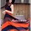 เทรนด์แรงกับ Maxi Dress:ADB106 ใหม่! ชุดแซก/แม๊กซี่เดรสหรู ผ้าไหมชีฟอง ออกแบบเล่นสีสวยเก๋หรู thumbnail 1