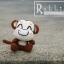 แพทเทิร์นตุ๊กตาถักลิงน้อยจอมซน Yoyo Cici thumbnail 3