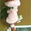 แพทเทิร์นตุ๊กตาถักสาวน้อย Pinkie Girl thumbnail 4
