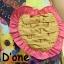 [Only590] พร้อมส่ง BRAND112 เอาใจคนตามงานสไตล์แบรนด์ดัง แบรนด์ Lynaround งานป้ายเอี้ยมลายดอก สีสันสดใสมากๆ ดีไซน์น่ารัก มีกระเป๋าเป็นรูปหัวใจ thumbnail 6