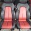BENZ SLK E190 E160 เบาะMERCEDES BENZ SLK ทรงซิ่ง ขอบข้างหนังแท้สีดำเดินด้ายแดง ตรงกลางหนังสีแดง เบาะเบนซ์ SLK E190 E160 เบาะปีก thumbnail 1