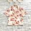 ส่ง:เสื้อปกฮาวายลายดอกสดใสผ้าใส่พริ้วๆ/อก40 thumbnail 1