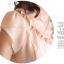 เสื้อทำงานผู้หญิงแขนสั้น ผ้าชีฟอง สีชมพู thumbnail 5