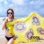 ผ้าคลุมชุดว่ายน้ำ ผ้าคลุมชายหาด ผ้าชายทะเล SH773 : ผ้าชีฟอง size 140x80 cm (มีสายคล้องแขน) thumbnail 3