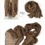 ผ้าพันคอแฟชั่น Cotton Candy : สี Brown thumbnail 2