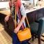 """""""พร้อมส่ง""""กระเป๋าแฟชั่น Maomao กระเป๋าสะพายทรงน่ารัก -สีส้ม thumbnail 1"""