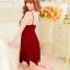 ชุดนอนซีทรูเซ็กซี่สีแดงเลือดหมูสวยมากค่ะ ใส่แล้วเป็นสาวไฮโซทันทีเบย thumbnail 4