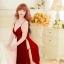 ชุดนอนซีทรูเซ็กซี่สีแดงเลือดหมูสวยมากค่ะ ใส่แล้วเป็นสาวไฮโซทันทีเบย thumbnail 3