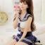 ชุดคอสเพลย์นักเรียน ผูกหลัง น่ารัก สไตล์สาวญี่ปุ่น thumbnail 3
