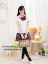 ชุดนักเรียนญี่ปุ่นสดใส