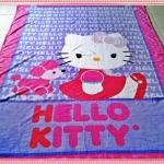 ผ้าห่ม Kitty ม่วง 10