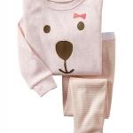 baby Gap ลาย Teddy bear pink