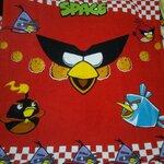 ผ้าห่ม Angry Birds สแปชแดง