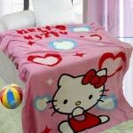 ผ้าห่ม Kitty หัวใจ 9