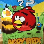 ผ้าห่ม Angry Birds งง