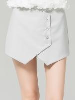 กางเกงขาสั้นไซส์ใหญ่ สีเทา/สีน้ำเงิน (XL,2XL,3XL,4XL,5XL)