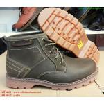 รองเท้าหนัง Caterpillar หนังแท้100% size 40-45 (สีน้ำตาลเข้ม)
