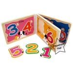 2SW-E467 สมุดภาพตัวต่อไม้ ชุดตัวเลข (1-10)