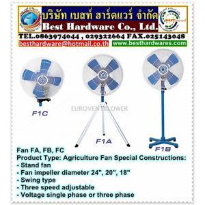 Fan FA, FB, FC