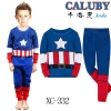ชุดนอนเด็ก Caluby  ลาย กัปตันอเมริกา 2Y
