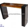 โต๊ะบาร์ไม้ลายปาร์เก้ WC-62