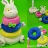 หยอดเสาผ้าพี่กระต่าย ของ Robbi Bunny