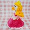 แพทเทิร์นตุ๊กตาถักเจ้าหญิงออโรร่า (Amigurumi Aurora Pattern)