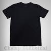เสื้อยืดเปล่า ผ้า cotton 100% no.32 สีดำ