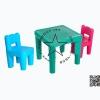 Pro-10-57-20 (PPT-001) ชุดโต๊ะคิดดี้พร้อมเก้าอี้ 2 ตัว