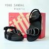SALE :: Size US 9 / EU 41 *พร้อมส่ง* YOKO SANDAL : Black / Fog