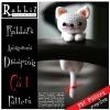 แพทเทิร์นตุ๊กตาถักแมวน้อยขี้เซา (Amigurumi Drooping Cat)