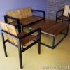 ชุดโซฟาพร้อมโต๊ะกลางไม้สัก CR-05 Living Set