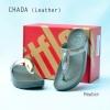 **พร้อมส่ง** รองเท้า FitFlop Chada (Leather) : Pewter : Size US 8 / EU 39