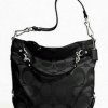 COACH Signature Sateen Brooke # 17183 Black