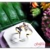 แหวนเพชร gold plated 1microns / white gold plated