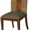 เก้าอี้ไม้แต่งผักตบชวา IFWH-005