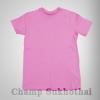 เสื้อยืดเปล่า ผ้า cotton 100% no.32 สีชมพู