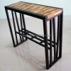 โต๊ะบาร์ไม้ลายปาร์เก้ TBR-01