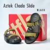 **พร้อมส่ง** รองเท้า FitFlop Aztek Chada Slide : Black : Size US 6 / EU 37