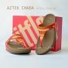 **พร้อมส่ง** รองเท้า FitFlop Aztek Chada : Ultra Orange : Size US 8 / EU 39