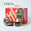 **พร้อมส่ง** รองเท้า FitFlop SOUZA : Bronze : Size US 7 / EU 38