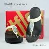 **พร้อมส่ง** รองเท้า FitFlop Chada (Leather) : Urban White : Size US 7 / EU 38
